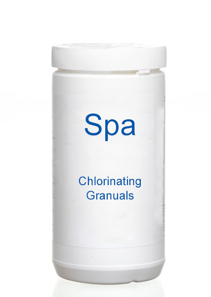 spa chlorinating granuals